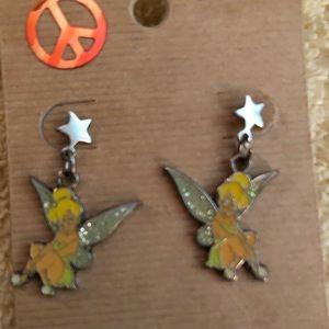 Tinker Bell Pierced Earrings